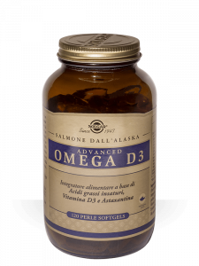 Solgar Advanced Omega D3-120 perle soft-gels