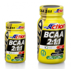 Proaction BCAA Gold 2:1:1 90 Compresse