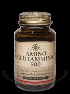 Solgar Amino Glutammina 500-50 capsule vegetali