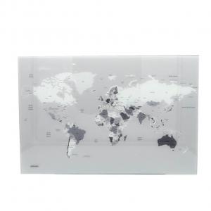 Planisfero in vetro magnetico 60x40 Mascagni