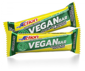 Proaction Vegan Bar Cioccolato Barretta 40 G