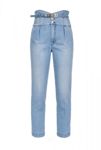 Ariel 2 Bustier Jeans Pinko SS20