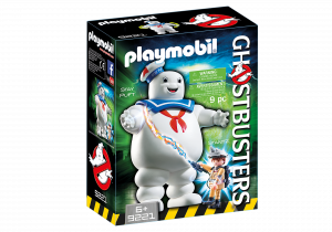 Playmobil 9221 GHOSTBUSTERS : Omino Marshmallow e Stantz
