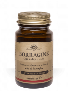 Solgar Borragine One A Day Gla-30 perle