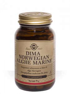 Solgar Dima Norwegian Alghe Marine-250 tavolette
