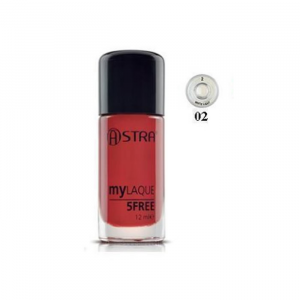 Astra Makeup My Laque 5Free 02 White Light 12ml