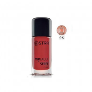 Astra Makeup My Laque 5Free 06 Nude Sweet 12ml