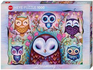 HEYE - DREAMING (by Jeremiah Ketner) Great Big Owl - Puzzle 1000 Pezzi