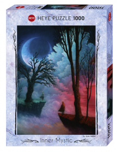 HEYE - INNER MYSTIC (by Andy Kehoe) Worlds Apart - Puzzle 1000 Pezzi