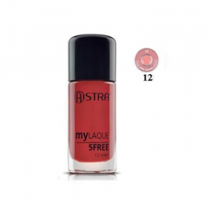 Astra Makeup My Laque 5Free 12 Rose Lingerie 12ml