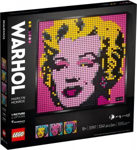 LEGO ZEBRA 2020 ANDY WARHOL'S MARILYN MONROE 31197