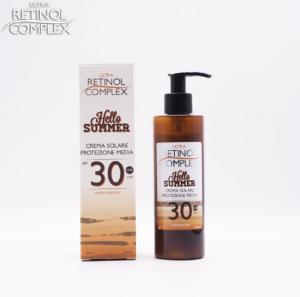 RETINOL COMPLEX - Hello Summer crema solare protezione media SPF30 200ml