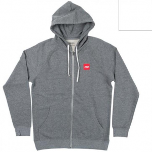 Patch Zip Hoody
