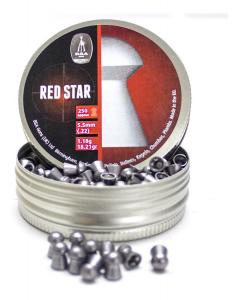 piombini per carabina cal.4,5mm Red Star da 0,52g