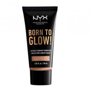 Nyx Born To Glow Naturally Radiant Foundation Soft Beige 30ml