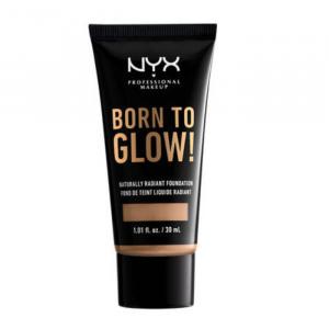 Nyx Born To Glow Naturally Radiant Foundation Tan 30ml