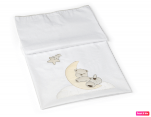 Copertina Lettino Piquet Moon Billo e pallina