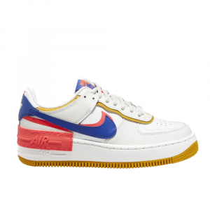 Nike Air Force 1 Shadow Bianca\Blu da Uomo