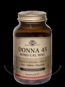 Solgar Donna 45, Boro Cal Mag-100 tavolette