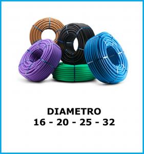 Tubo guaina corrugato cavo pvc 16/20/25/32 flessibile per impianto elettrico