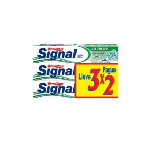 Signal Fresh Gel Dentifricio 3x75ml
