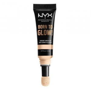 Nyx Born To Glow Radiant Concealer Pale White Ivory Warm Undertone