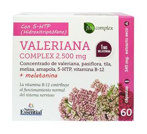 Nature Ess Valeriana Complex 2740 Mg Ext Seco 60 Caps Blister