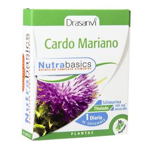 CARDO MARIANO 30 Caps NUTRABASICOS