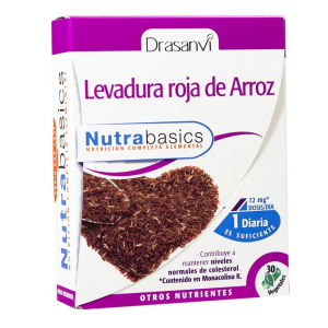 LEVADURA ROJA DE ARROZ 30 Caps NUTRABASICOS
