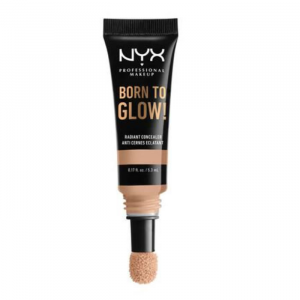 Nyx Born To Glow Radiant Concealer Natural Nude With Neutral Undertone
