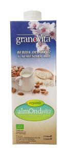 Granovita Bebida Leche De Arroz y Almendras Bio 1l