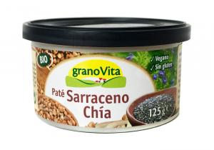 Granovita Pate Sarraceno y Chia Bio Lata 125g