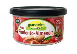 Granovita Pate Pimiento Almendra Bio Lata 125g