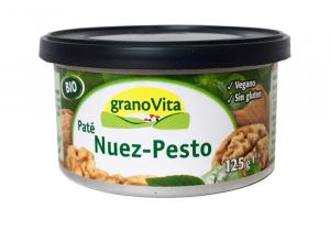 Granovita Pate Nuez y Pesto Bio Lata 125g