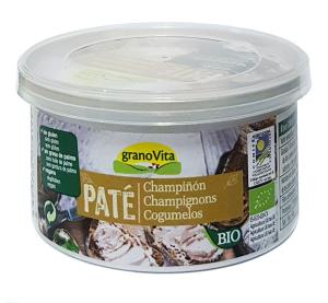 Granovita Pate Champiñon Girasol Bio 125g