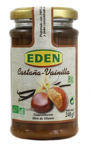 Eden Mermelada De Castaña Vainilla Bio 240g