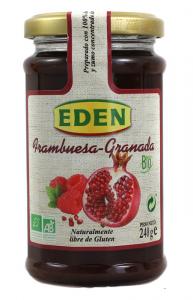 Eden Mermelada Frambuesa Granada Bio 240g
