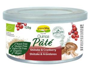 Granovita Pate Quinoa Shiitake Arandanos Bio 125g