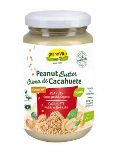 Granovita Crema Cacahuete Crunchy Bio 350g
