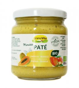 Granovita Pate Mousse Papaya Mango Bio 175g