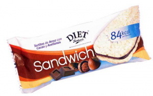 Diet Radisson Sandwich Arroz Cacao Avellanas 60g