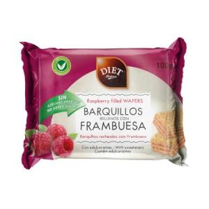 Diet Radisson Barquillos Relleno Frambuesa 100g