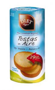 Diet Radisson Tostas De Aire 100g