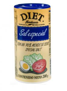 Diet Radisson Sal Especial Baja En Sodio 200g