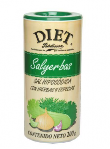Diet Radisson Sal Yerbas Diet 200g