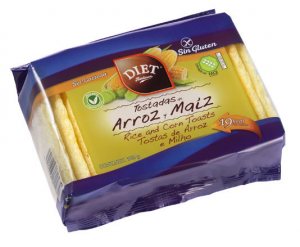 Diet Radisson Tostadas De Arroz y Maiz Sin Gluten 100g