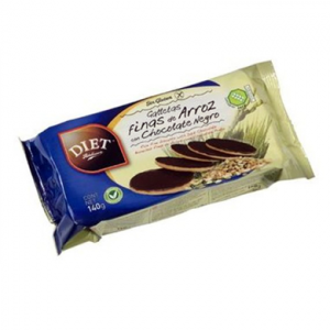 Diet Radisson Galletas Finas Arroz Chocolate S Gluten 140g