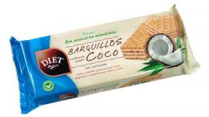 Diet Radisson Barquillos Relleno Coco 200g
