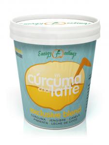 Energyfruits Curcuma Chai Latte Eco Tarrina 250g