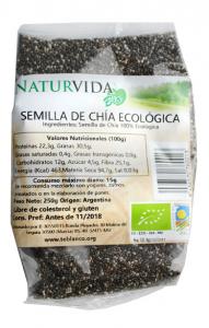 Naturvida Semilla Chia Bio 250g